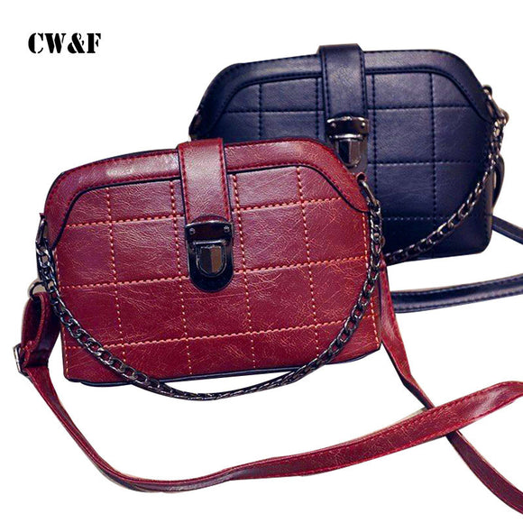 CW&F 2018 Women Small New Brand Crossbody Bag Female Brief Fashion Vintage - Beltran's Enterprise