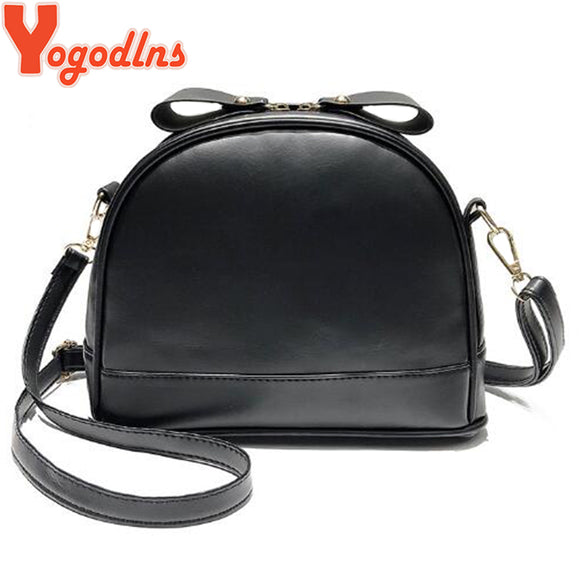 Yogodlns Retro Leather Women Small Shell Bags Messenger Bag - Beltran's Enterprise