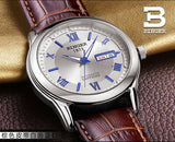Switzerland watches men luxury brand Wristwatches BINGER luminous Mechanical - Beltran's Enterprise