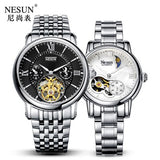 Switzerland Nesun Hollow Tourbillon Watch Men &Women Luxury Brand - Beltran's Enterprise