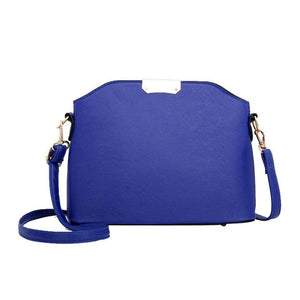 Women Bag Pure Color Crossbody Messenger Bags Shoulder Bag Lady Purse - Beltran's Enterprise