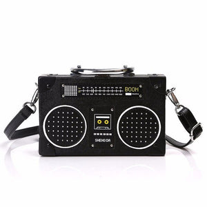 New Designer Radio Box Women Shoulder Bag Retro Vintage - Beltran's Enterprise