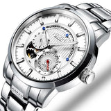 Luxury Brand Switzerland NESUN Men's Watches Automatic Mechanical - Beltran's Enterprise