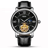 Switzerland Nesun Hollow Tourbillon Watch Men Luxury Brand Automatic Mechanical - Beltran's Enterprise
