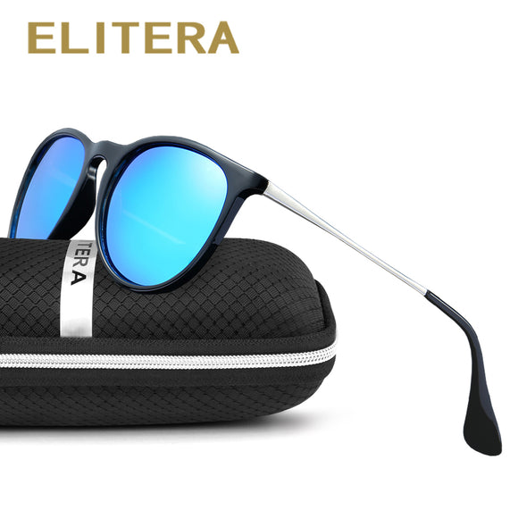 ELITERA Retro Round Polarized Sunglasses Women Brand Designer Luxury Sun Glasses For Men - Beltran's Enterprise