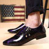 oxfords italy sapato masculino wedding shoes casual oxford shoes for men dress shoes 2018 - Beltran's Enterprise