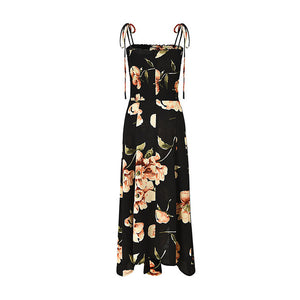 Bella Philosophy women bohemian asymmetrical floral printed dress - Beltran's Enterprise