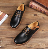 2018 leather men shoes formal oxford shoes for men wedding shoes sapato masculino dress shoes - Beltran's Enterprise