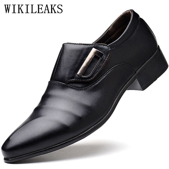 Designer Man Oxford Shoes For Men Wedding Shoes Mens Pointed Toe Dress Shoes Leather Shoes Men - Beltran's Enterprise