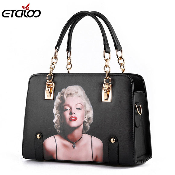 Women bag 2017 new wave bag ladies fashion handbags slung the chain shoulder Tote - Beltran's Enterprise