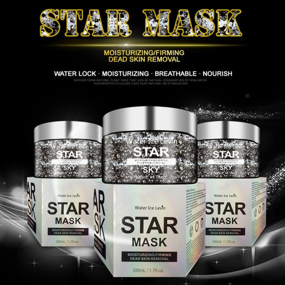 100ML Moisturizing Oil Control Tearing Mask Starry Sky Mask Exfoliating Scrub - Beltran's Enterprise