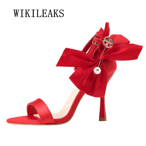 ladies sandals mary janes women shoes sandalias mujer 2018 sexy high heels summer shoes - Beltran's Enterprise
