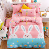 Solstice Home Textile Brand Cartoon Fashion Style 3/4pcs Bedding Set Duvet Cover Bed Sheet - Beltran's Enterprise