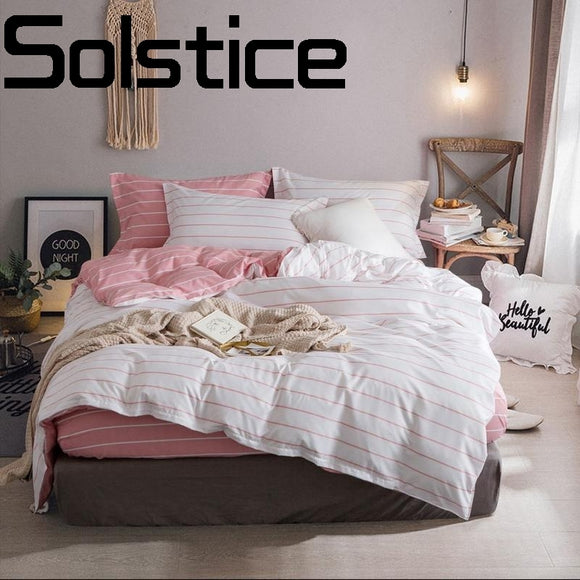Solstice Home Textile Simple and comfortable breathable activity sanding Quilt cover Sheet - Beltran's Enterprise