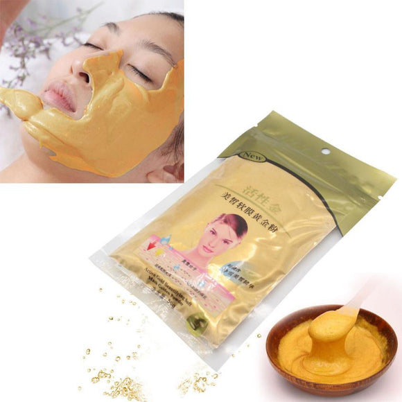 New Top Fashion 50g Gold Active Face Mask Powder  Anti Aging Luxury Spa Treatment 100% Brand - Beltran's Enterprise