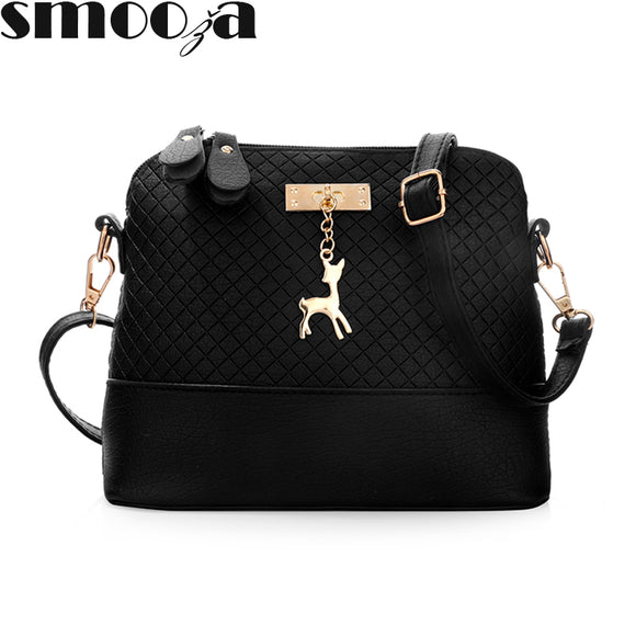 SMOOZA Deer Shell women Bag HOT SALE 2018 Women Messenger Bags Fashion lady - Beltran's Enterprise