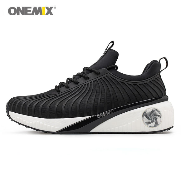 ONEMIX women sneakers height increasing shoes for outdoor walking light cool high - Beltran's Enterprise