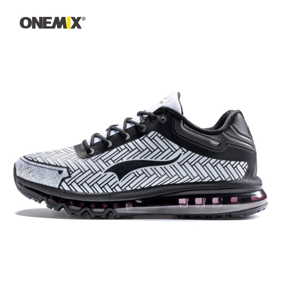 ONEMIX men running shoes durable outdoor jogging shoes sports damping cushion sneakers - Beltran's Enterprise
