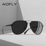 AOFLY BRAND DESIGN Polarized Sunglasses Men Vintage Driving Classic Sunglasses - Beltran's Enterprise
