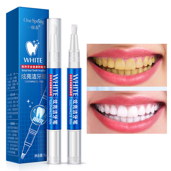 Professional High Quality Brightening Teeth Whitening Gel Pen Deep Cleansing Teeth Remove Stains Yellow Teeth Oral Nursing Tool - Beltran's Enterprise