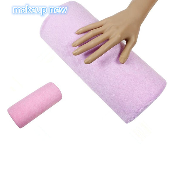 NEW hand rest Nail art manicure cushion Pillow Salon nail Hand Holder pillow soft Nail Arm Rest Manicure Accessories Tool - Beltran's Enterprise