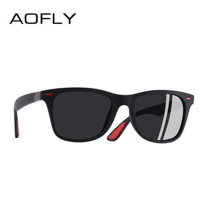 AOFLY BRAND DESIGN Classic Polarized Sunglasses Men Women Driving Square Frame Sun - Beltran's Enterprise