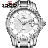 Switzerland BINGER Watch Men Luxury Brand Japan MIYOTA Automatic Mechanical - Beltran's Enterprise