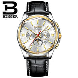 BINGER Watch Men Luxury Brand Automatic Mechanical Watch Sapphire - Beltran's Enterprise