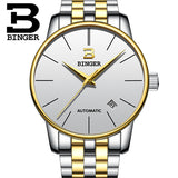 Switzerland BINGER watches men luxury brand Relogio Masculino water resistant Stainless steel - Beltran's Enterprise