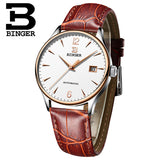 Switzerland Automatic Mechanical Men Watches Binger Luxury Brand Watch Men Sapphire - Beltran's Enterprise