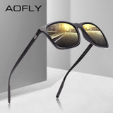 AOFLY Classic Polarized Sunglasses Fashion Style Sun Glasses for Men/Women Vintage Brand - Beltran's Enterprise