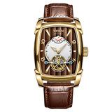 Nesun Tourbillion Automatic Mechanical Watch Skeleton Watch Men Luxury Brand - Beltran's Enterprise