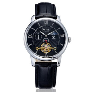 Nesun Skeleton Tourbillon Switzerland Watch Men Luxury Brand - Beltran's Enterprise