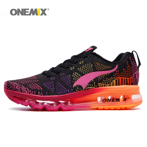 ONEMIX women's sport running shoes Lady walking shoes breathable mesh women's - Beltran's Enterprise