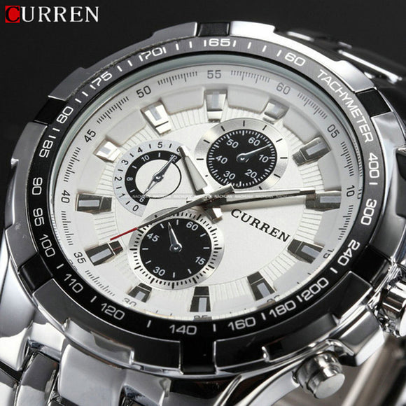 New Relogio Masculino Curren 8023 Luxury Brand Watches Men Quartz Fashion Sports - Beltran's Enterprise