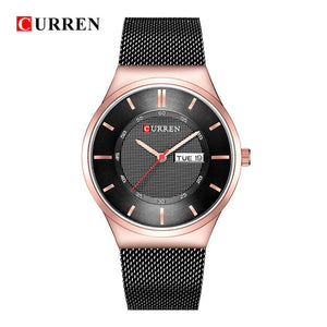 Mens Watches Top Luxury Brand curren 8311 Men Unique Sports Watch Men's Quartz - Beltran's Enterprise