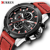 Curren Watch Military Watches Men Brand Quartz Army Sport Chronograph Waterproof - Beltran's Enterprise
