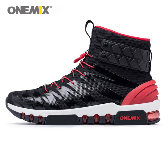 ONEMIX  walking shoes men boots trekking shoes for women sneakers high top boots - Beltran's Enterprise