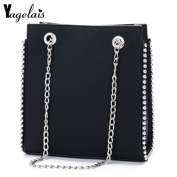 2018 Handbag Casual Top Quality Luxury  Crossbody  Chain Shoulder Bag  Chain Flap Bag - Beltran's Enterprise