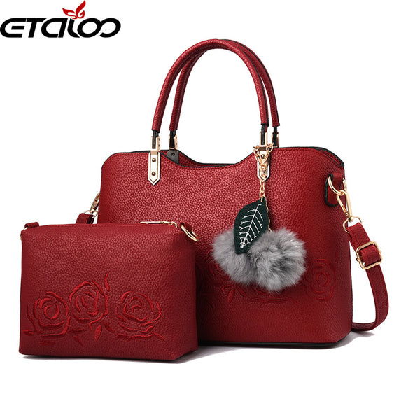 handbag set women Bags wholesale new female mother bag shoulder diagonal fashion - Beltran's Enterprise