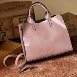 Hot Leather Handbags Big Women Bag High Quality Casual Female Bags Trunk Tote Spanish Brand - Beltran's Enterprise