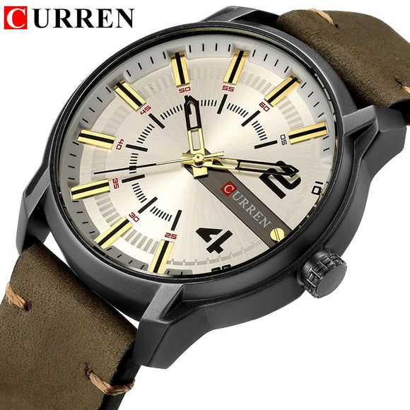CURREN 8306 Man Watch 2018 Men Watches Top Brand Luxury Famous Military - Beltran's Enterprise