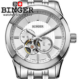 New Switzerland Men's Watch luxury brand clock BINGER Japan MIYOTA Automatic Self-wind full - Beltran's Enterprise