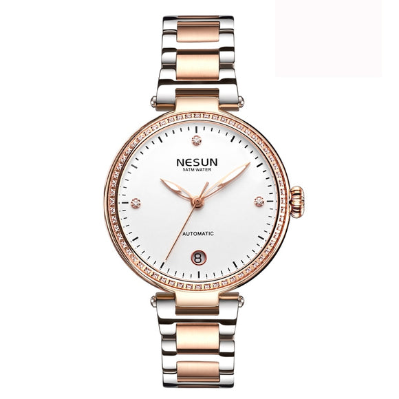 Woman Watches Nesun Japan Miyota Movement Watch Women Luxury Brand Automatic Mechanical - Beltran's Enterprise