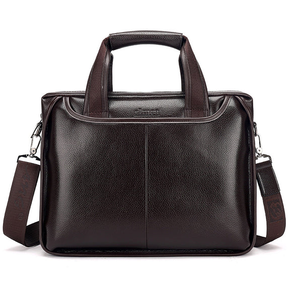 Special New men messenger bags leather shoulder man bag casual briefcase laptop handbags - Beltran's Enterprise