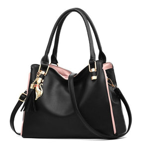 Women Messenger 2019 New Tide Female Top-handle Bag Girls Simple Shoulder Bags Women Handbags - Beltran's Enterprise