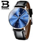 Switzerland BINGER Mens Watches Luxury Brand Men Watch Sapphire Japan NH35A Mechanical - Beltran's Enterprise