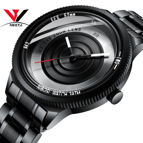 Reloj Hombre 2019 NIBOSI Sports Watches For Mens Watches Top Brand Luxury Waterproof Fashion - Beltran's Enterprise