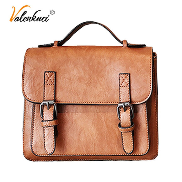 Bags For Women Messenger Bag 2018 Crossbody Bags PU Leather Small Satchels Vintage Women - Beltran's Enterprise