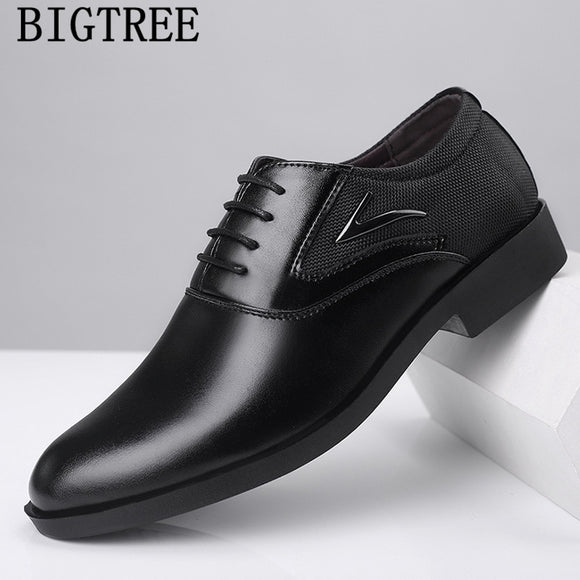 suit shoes oxford shoes men classic elegant shoes men formal leather chassures homme tenis - Beltran's Enterprise